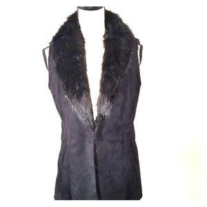 JMcLaughlin Faux Fur Vest